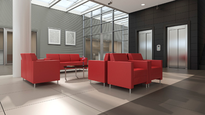 Lounge Office Space Design