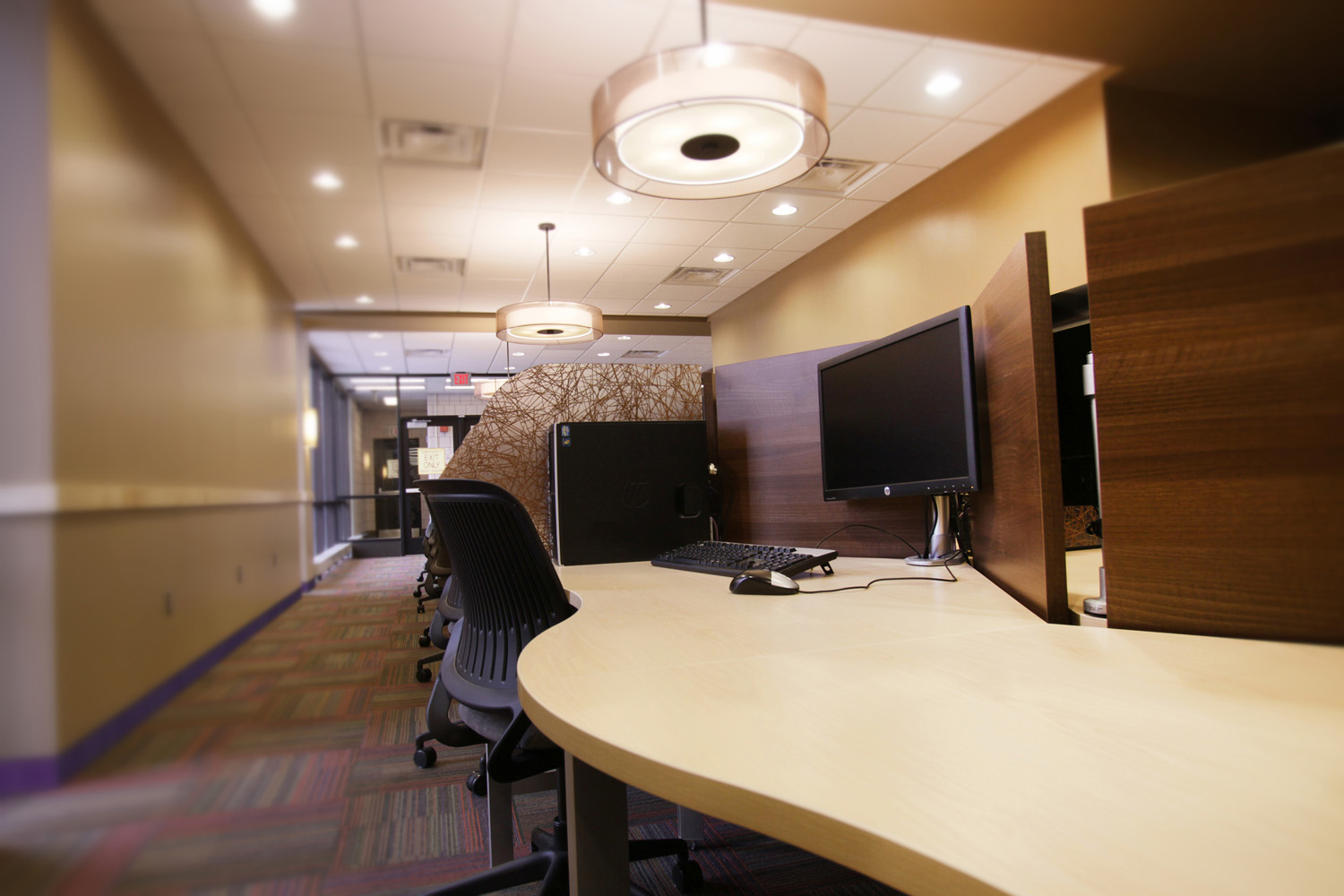 Superb We Collaborated With MSU Mankato, Their Interior Designer, And Oleson +  Hobbie Architects To Create Custom Study Stations For The Library.