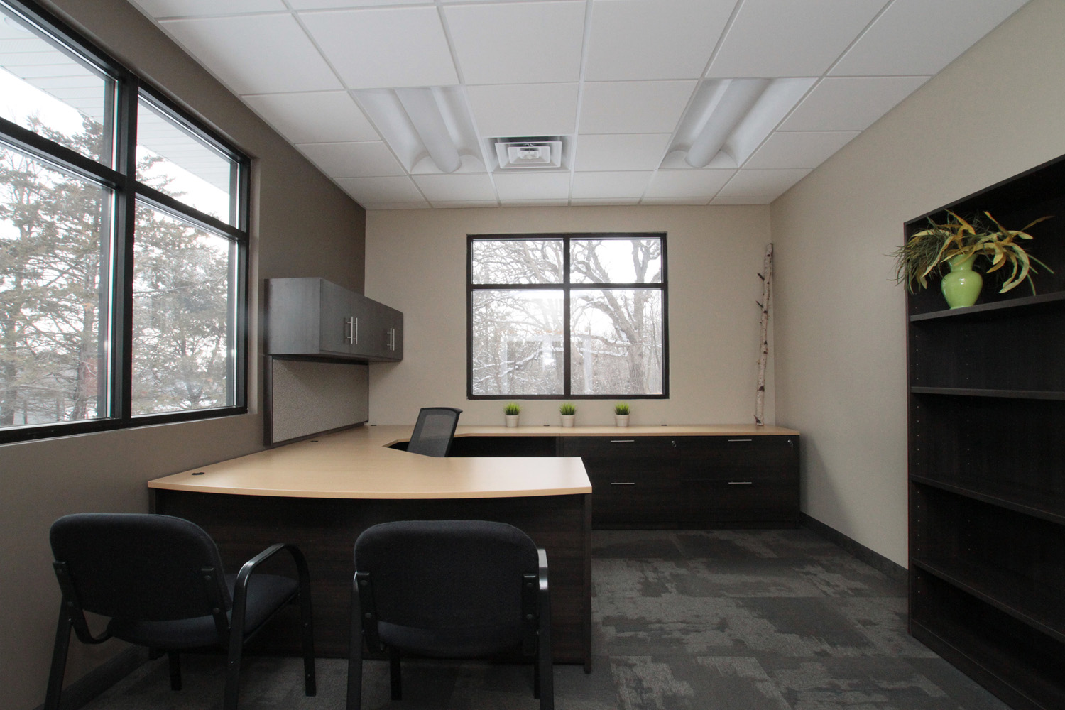 Office space design mankato new used office for Interior designs for office space