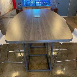 High Top Conference Table Image